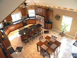Discount Flooring Used By Custom Home Builder In Lehigh Valley Poconos PA.
